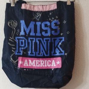 PINK Victoria's Secret Bags - 🦃🎄Pink Victoria's Secret tote